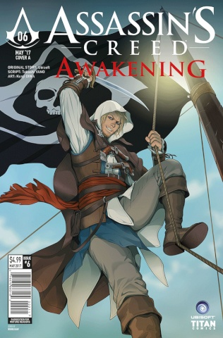 Assassin's Creed: Awakening #6 (Doubleleaf Cover)
