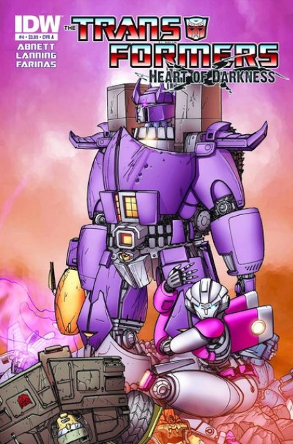 Transformers: Heart of Darkness #4