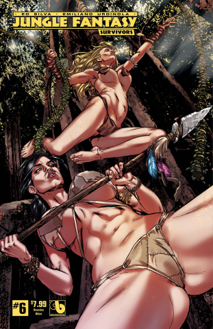 Jungle Fantasy: Survivors #6 (Beauties Bikini Cover)