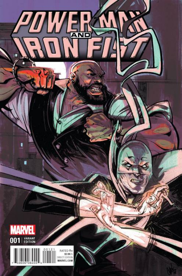 Power Man & Iron Fist #1 (Visions Cover)