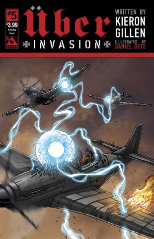 Über: Invasion #5 (Blitzkreig Cover)