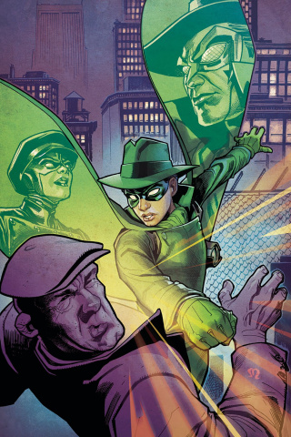 Green Hornet #3 (20 Roux Virgin Cover)