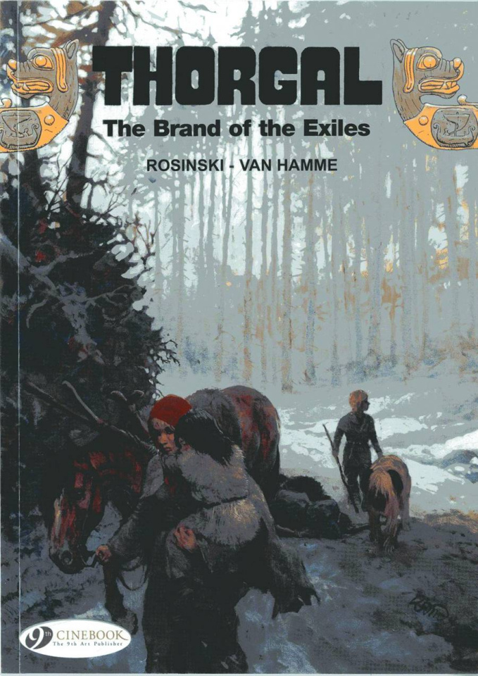 Thorgal Vol. 12: The Brand of Exiles