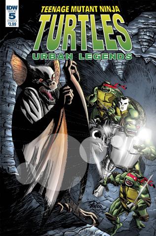 Teenage Mutant Ninja Turtles: Urban Legends #5 (Fosco Cover)