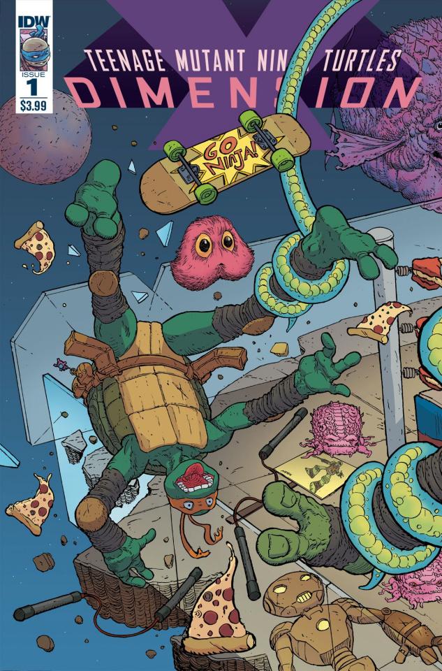 Teenage Mutant Ninja Turtles: Dimension X #1 (Pitarra Cover)