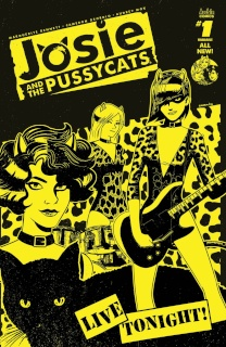Josie and The Pussycats #1 (Derek Charm Cover)