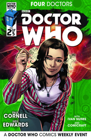 Doctor Who: Four Doctors #2 (25 Copy Incentive Cover)