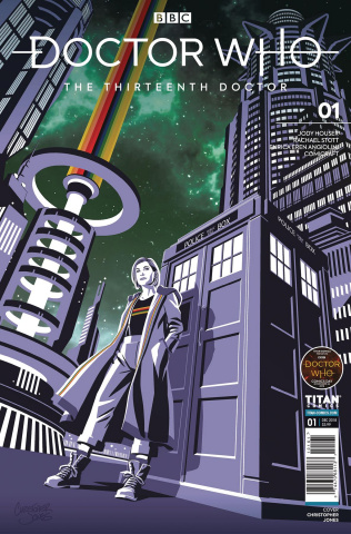 Doctor Who: The Thirteenth Doctor #1 (Doctor Who Comics Day Cover)