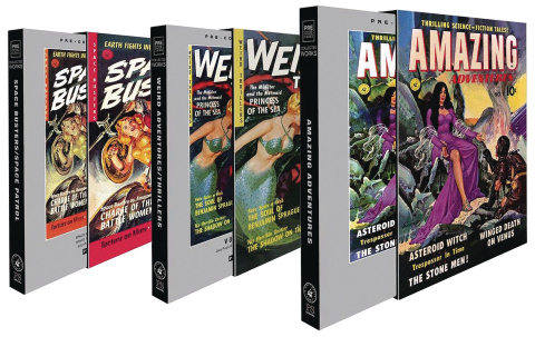 Ziff Davis Sci Fi Slipcase Set