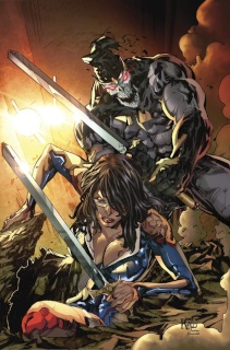 Grimm Fairy Tales: Realm War #10 (Lashley Cover)