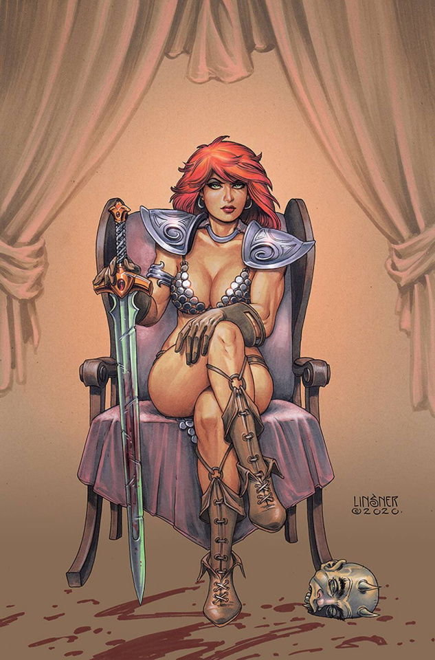 Red Sonja #24 (Linsner Virgin Cover)