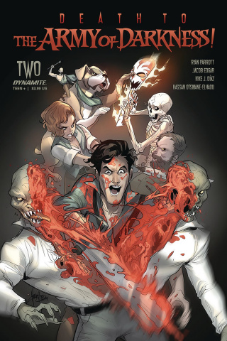 Death to the Army of Darkness #2 (Andolfo Cover)