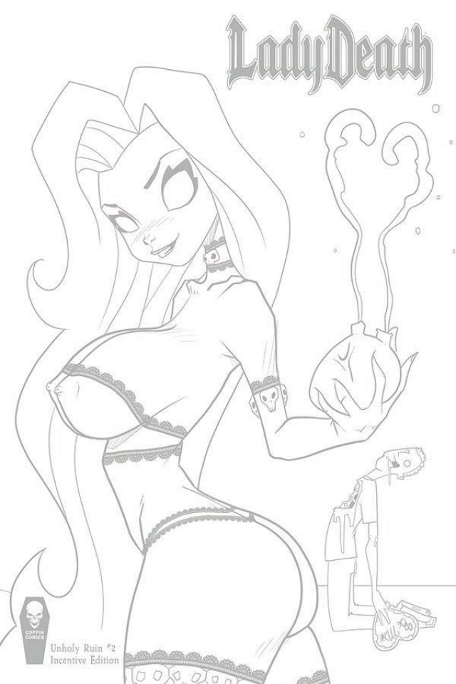 Lady Death: Unholy Ruin #2 (10 Copy Mendoza Cover)
