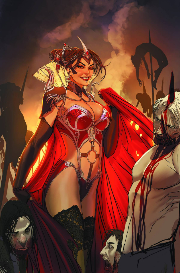 Grimm Fairy Tales: Dark Queen (Sejic Cover)