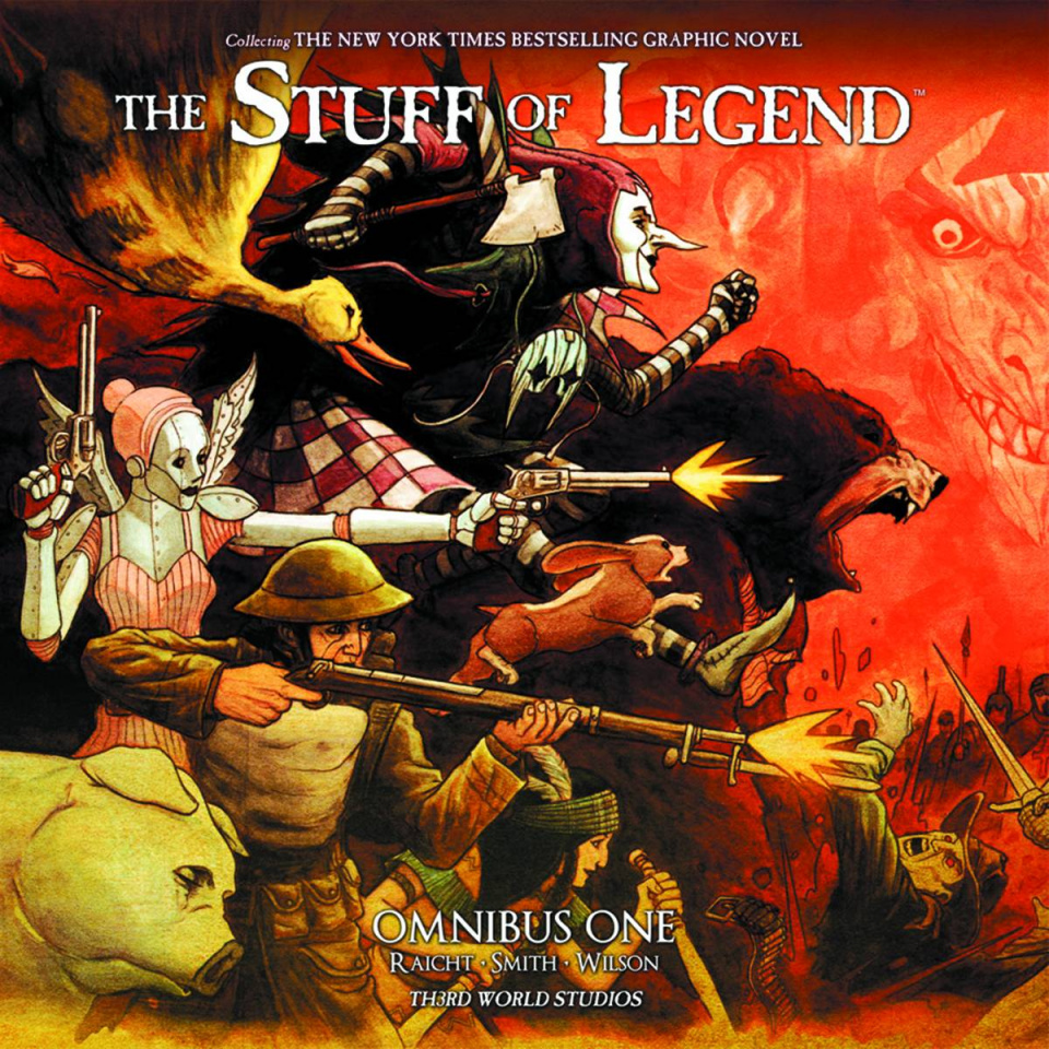 The Stuff of Legend Omnibus Vol. 1: Expanded Edition