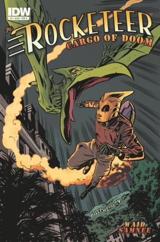 The Rocketeer: Cargo of Doom #4