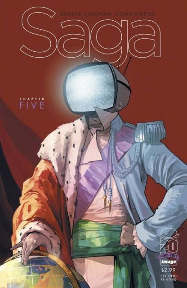 Saga #5 (2nd Printing)