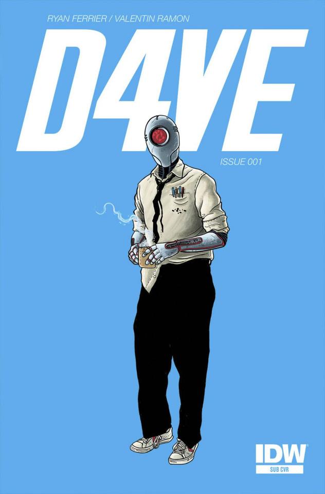 D4VE #1 (Subscription Cover)