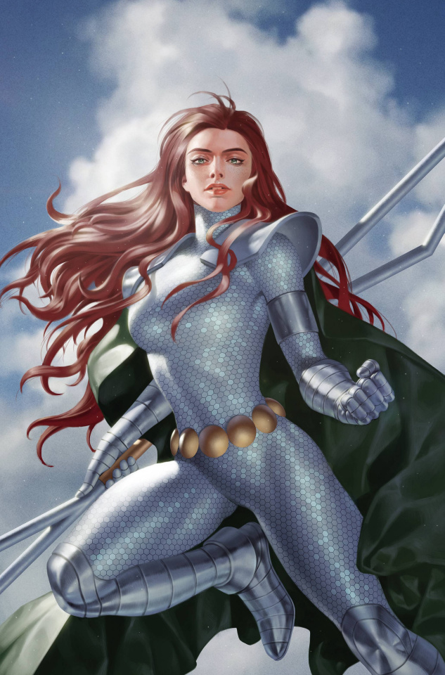Red Sonja: The Superpowers #5 (25 Copy Yoon Virgin Cover)