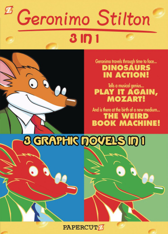 Geronimo Stilton Vol. 3 (3-in-1 Edition)