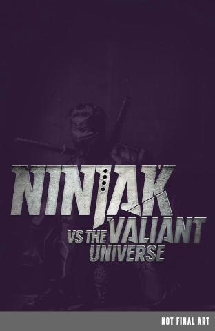 Rapture #4 (Ninjak vs. the Valiant Universe Cover)