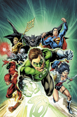 Justice League #44 (Green Lantern 75th Anniversary Cover)