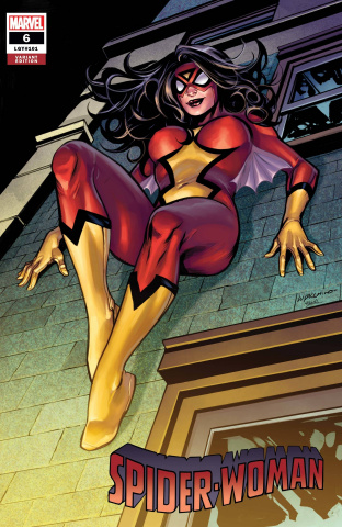 Spider-Woman #6 (Lupacchino Cover)