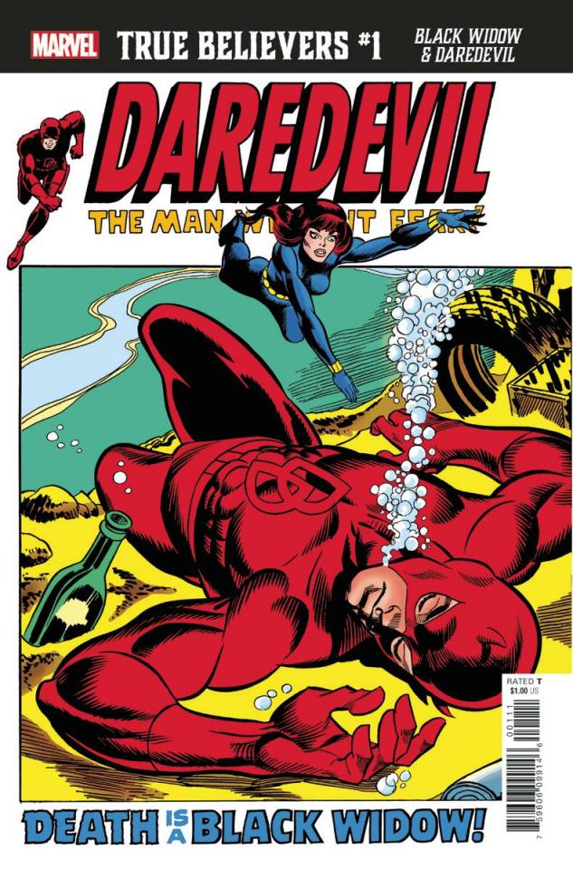 Black Widow & Daredevil #1 (True Believers)