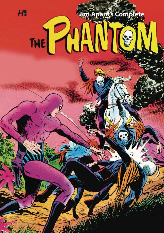 The Complete Jim Aparo's Charlton Phantom
