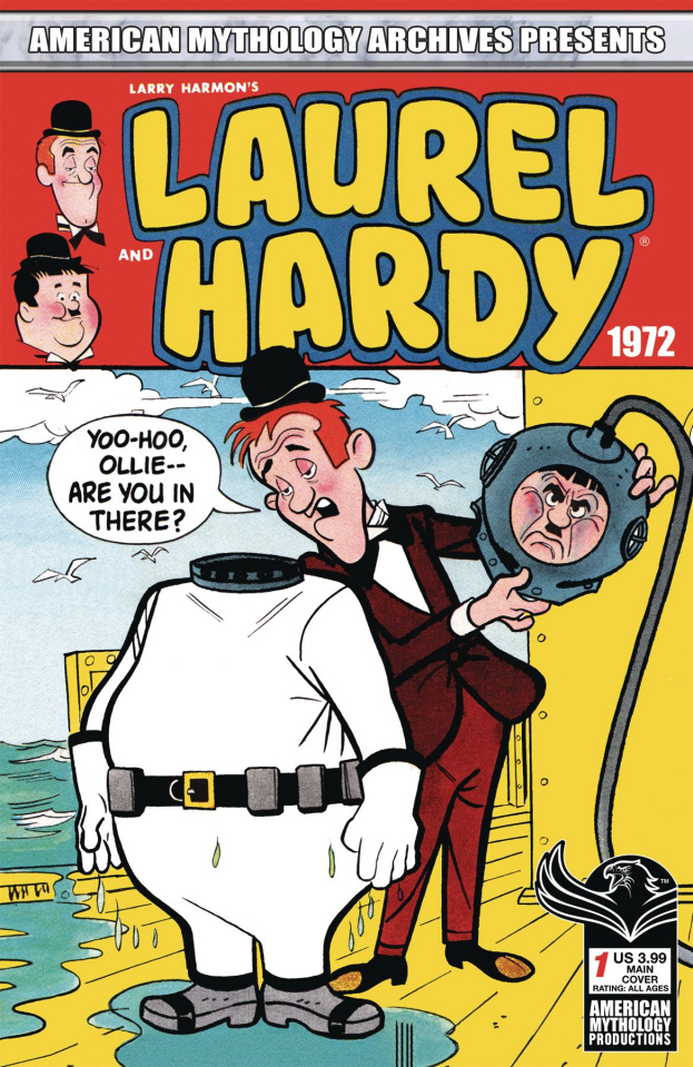 Laurel and Hardy: 1972 #1 (Classic Cover)