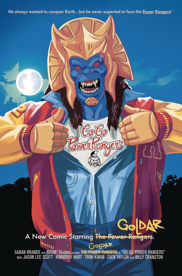 Go, Go, Power Rangers! #6 (25 Copy Bustos Cover)