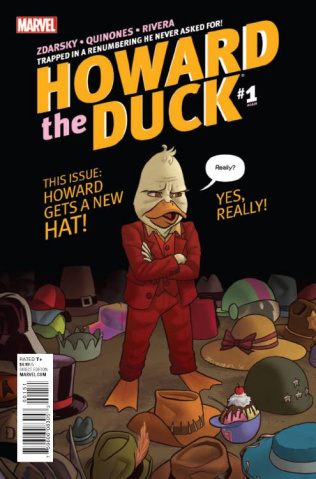 Howard the Duck #1 (Quinones Cover)