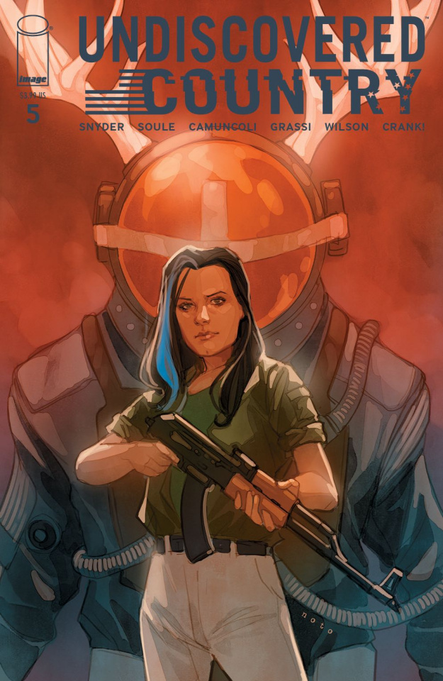 Undiscovered Country #5 (Noto Cover)