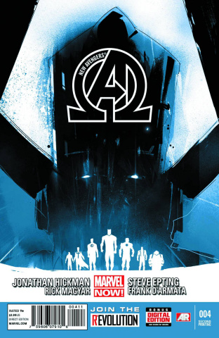 New Avengers #4 (2nd Printing)
