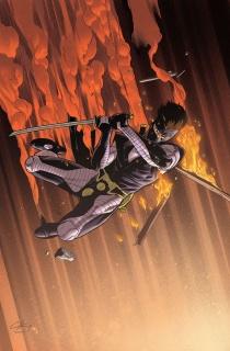 Ninjak #22 (20 Copy Henry Cover)