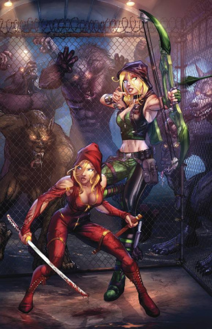 Grimm Fairy Tales: Robyn Hood #5 (Ehnot Cover)