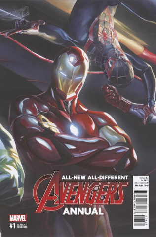 All-New All-Different Avengers Annual #1 (Ross Variant)