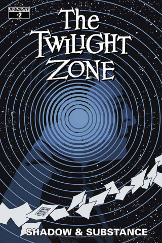 The Twilight Zone: Shadow & Substance #2 (Francavilla Cover)