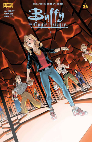 Buffy the Vampire Slayer #26 (Georgiev Cover)