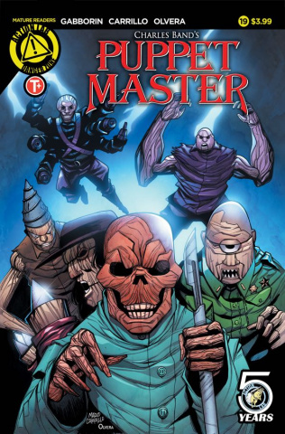 Puppet Master #19 (Carrillo Cover)
