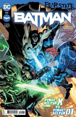 Batman #114 (Jorge Jimenez Cover)