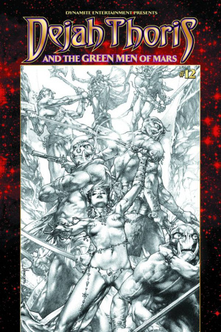 Dejah Thoris & The Green Men of Mars #12 (Anacleto Cover)
