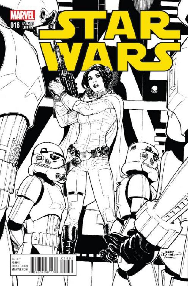 Star Wars #16 (Dodson Sketch Cover)