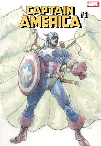 Captain America #1 (Yu Cover)