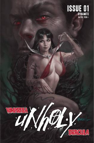 Vampirella / Dracula: Unholy #1 (Parrillo Cover)