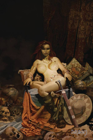 Red Sonja: The Price of Blood #1 (Suydam Virgin Cover)