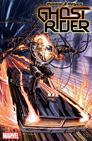 Ghost Rider #5 (Weaver Venomized Cover)