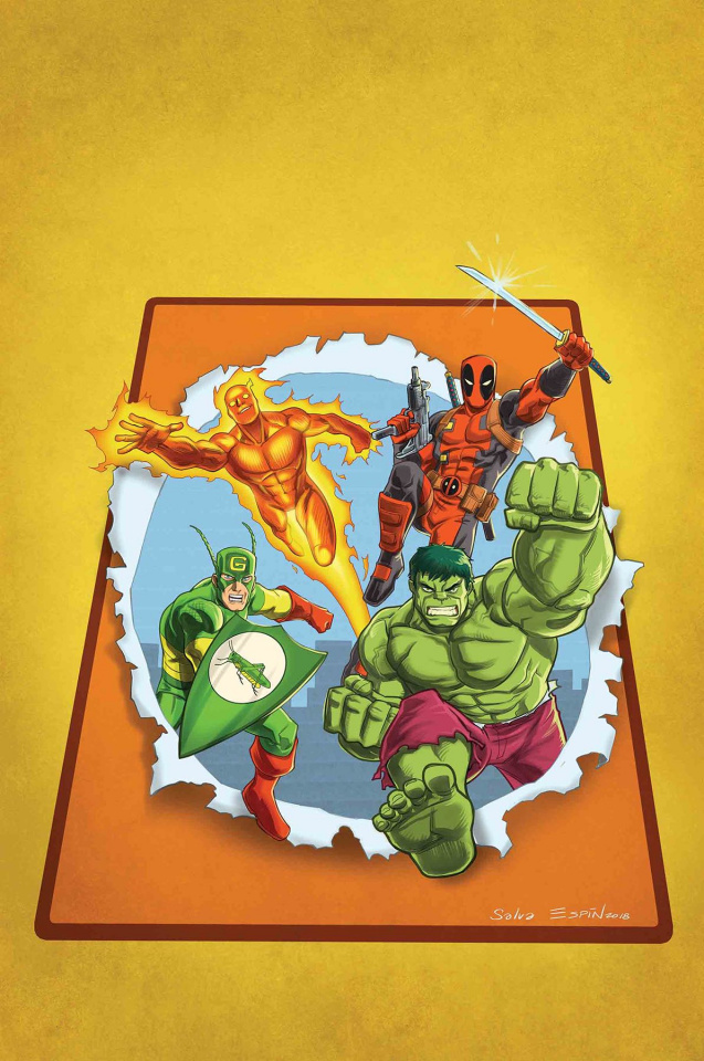 You Are Deadpool #2 (Espin RPG Cover)