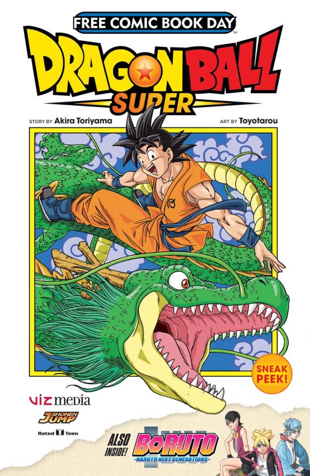 Dragon Ball Super / Boruto