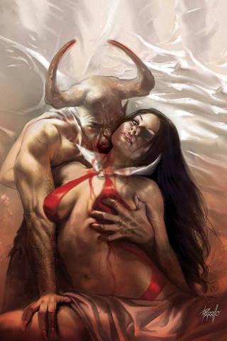 Vengeance of Vampirella #8 (Parrillo Virgin Cover)